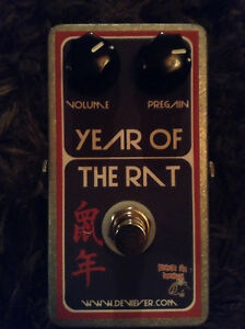 Devi Ever Year of the Rat fuzz/ boost pedal for trade
