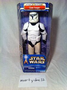 "STAR WARS Attack of the Clones 12"" Clone Trooper/Obi-Wan Kenobi Edmonton Edmonton Area image 2"
