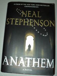 Anathem- hardcover novel by Neal Stephenson