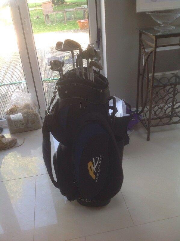 Ping I3 Blade Golf Club set With Power Caddie Bag