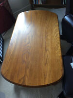 Oak Coffee Table AND Side Table