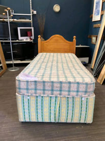 Single divan bed set £70