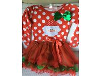 Get ready for Christmas dress for 4-5 year old