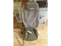 Homedics back massager with heat