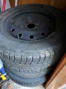 225/60R 16 winter tires on rims Kitchener / Waterloo Kitchener Area image 4
