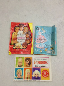 Vintage Barbie Doll magazines from 1960's