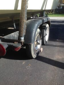 Tandem axle trailer for14 to 19 ft boat Windsor Region Ontario image 1