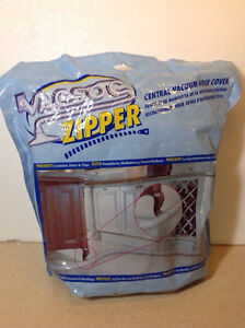 Vacsoc Zipper central vacuum hose cover - 30 feet