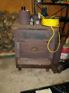 Cast iron stove air tight