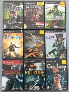 Playstation PS2 Games Lot