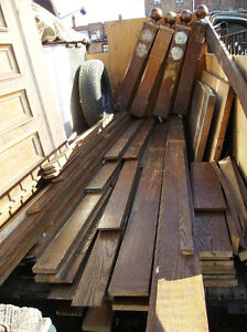 Various Sizes of Used Oak Boards /Crown Molding / Bar Tops Kawartha Lakes Peterborough Area image 1
