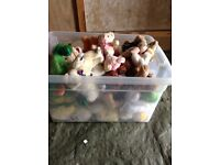 Job lot soft toys (teddies) mainly new £10