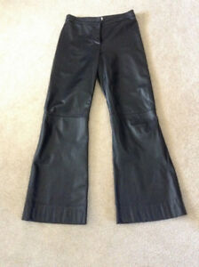 leather pants - size 10