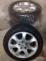 Must Sell!  4 Mercedes Rims with Pirelli Tires