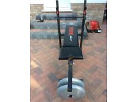 York weight bench and 20kg of weight