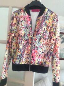 Boohoo ladies summer zipper jacket - size 10