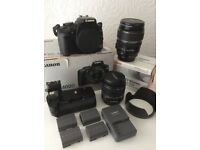 Canon EOS400D complete camera package.