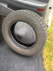 4x 16 in. WINTER TIRES in GOOD SHAPE - GOODYEAR - NORDIC