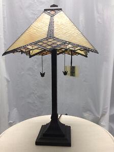 Lampe de table en vitrail Saguenay Saguenay-Lac-Saint-Jean image 2