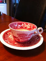 Assortment of Fine Bone China (Cups & Saucers)