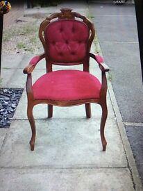 Antique Louis arm chair