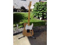 Custom made esquire guitar