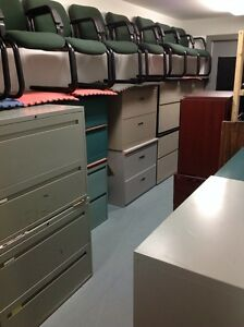 LOTS OF 2/3/4/5/6 DRAWER VERTICAL /LATERAL METAL FILING CABINETS Kitchener / Waterloo Kitchener Area image 1