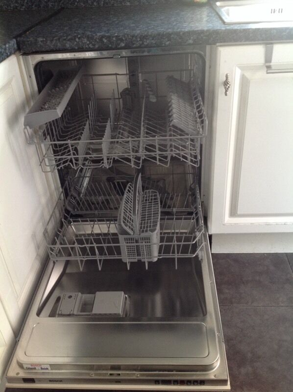 Dishwasher Bosch Shv55m03gb With Manual And Installation