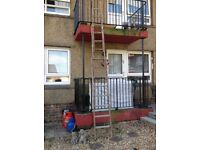 Wooden Ladder - 3 section - 16 ft - REDUCED!!