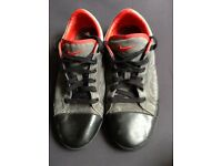 Pair of Red & Grey Nike Trainers Males Men's Shoe Size 10 Cheap