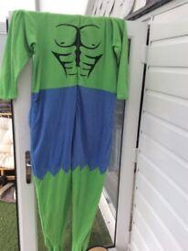 Marvel hulk onesie men xl