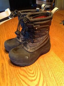 Boys size 12 North Face Winter boots