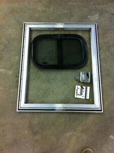 Teardrop Trailer Door Assembly