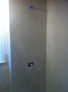 Granite, quartz, marble slab showers or stairs. From $4,500