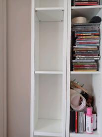 Cd dvd tower, storage slim bookcase