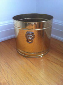 Gorgeous Brass Planter