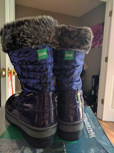 Girls Size 6 (Youth) Cougar Waterproof Winter Boots, New in Box London Ontario image 4