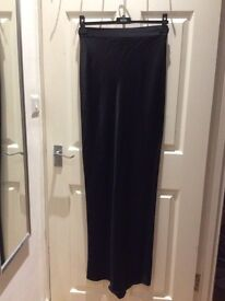 Reiss Black Maxi Occasion Skirt size 10UK