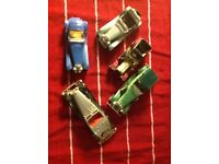 Set of 5 old cars MATCHBOX