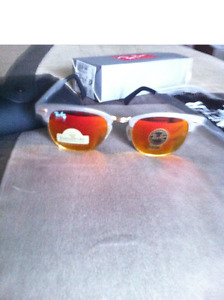 CLUBMASTER RAY BAN SUNGLASSES