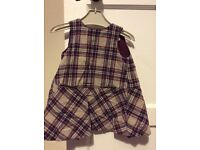 Zara tartan dress 12-18 months £3