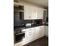 COMPLETE KITCHEN WALL & BASE UNITS PLUS WORK TOPS