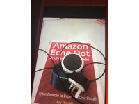 Amazon echo dot with instruction manual