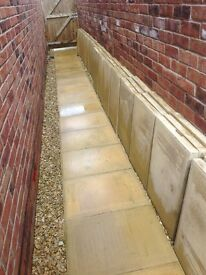 Patio slabs/paving slabs