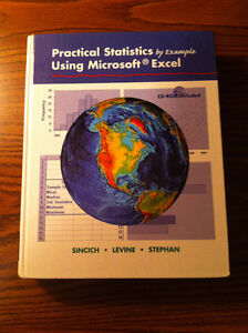 Practical Statistics by Example Using Microsoft Excel $20 obo