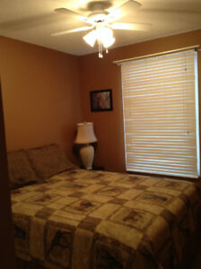Clean, quiet furnished room for rent in West Edmonton home