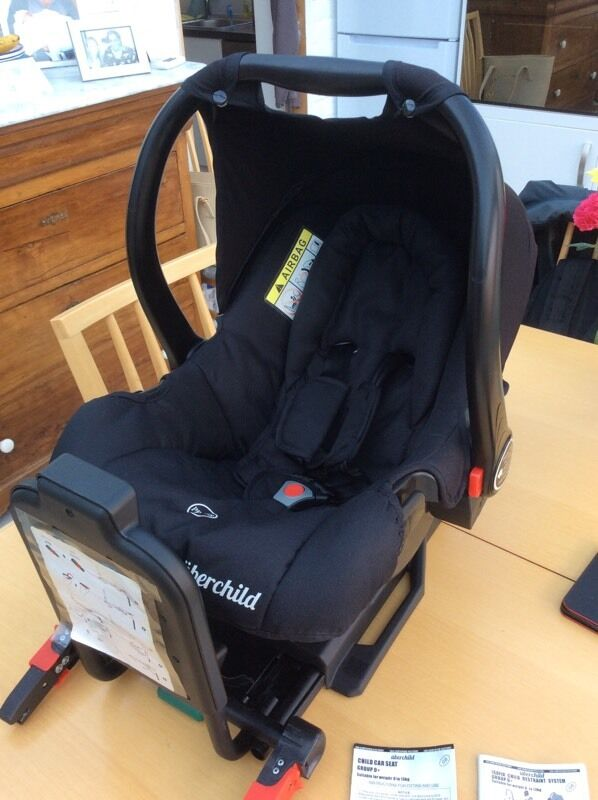 Uberchild car seat - Group 0+ Includes ISOFIX SYSTEM   in ...