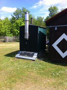 Outdoor Wood Furnace - Water Boiler System
