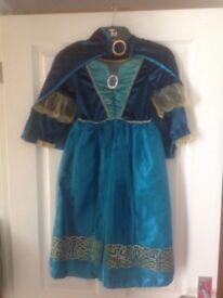 Merida dressing up dress with cape