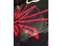 Clear iPad Air case